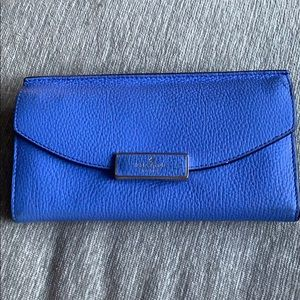 Kate Spade Pebbled Leather Clutch/Wallet Like New